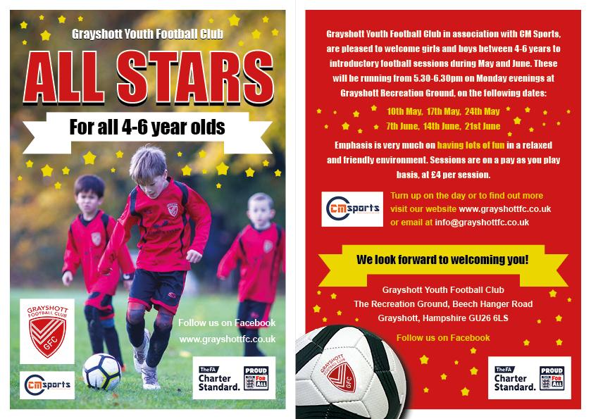 Grayshott Youth Football Club - All Stars